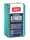 "CCI ""STINGER"" 22LR HP 50/5000"