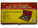 OUTERS 32PC UNIV CLNG KIT WOOD BOX