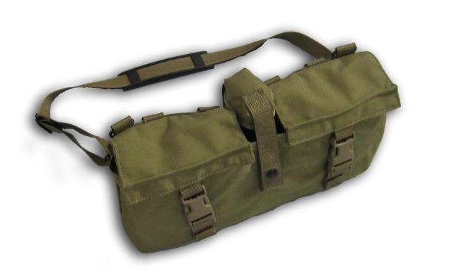 Ar 15 Armatac Saw Mag 150 Round Drum Molle Carry Bag