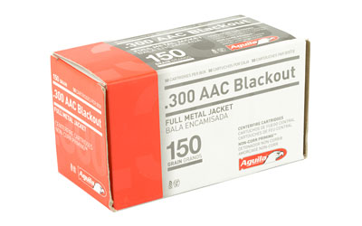 AGUILA 300BLK 150GR FMJ 50/1000