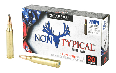 FED NON TYPICAL 7MM MAG 150GR SP 20/