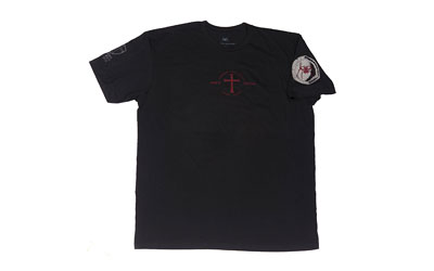 SPIKE\\\'S TSHIRT IF GOD BE FOR BLK XL
