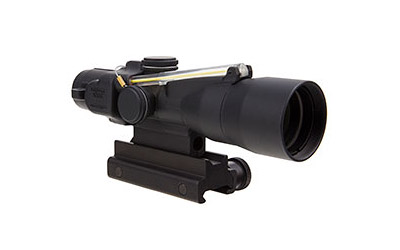 TRIJICON ACOG RIFLE SCOPE: 3X30MM, GREEN CROSSHAIR 300BLK, MATTE