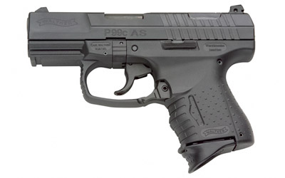 "WAL P99C AS 9MM 3.5"" BL 2-10RD"