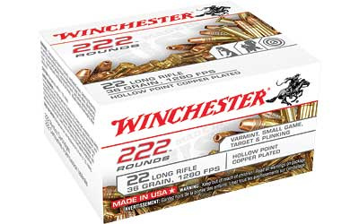 WIN 22LR 36GR CPR HP 222/2220