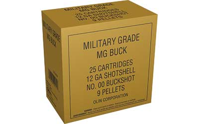 "WIN MILITRY GRD 12GA 2.75"" 00BK 5/"