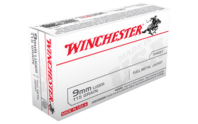 WIN USA 9MM 115GR FMJ 50/500