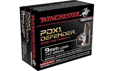 WIN DEFENDER 9MM 147GR JHP 20/200