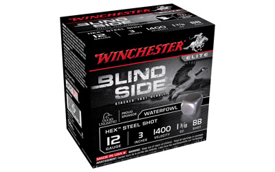 "WIN BLIND SIDE 12GA 3"" BB 25/250"
