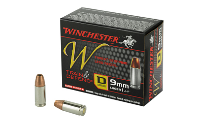 WIN W DEFEND 9MM 147GR JHP 20/200