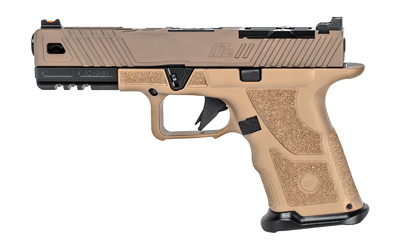 "ZEV OZ9 COVERT 9MM 4.5\"" 15RD FDE/BLK"
